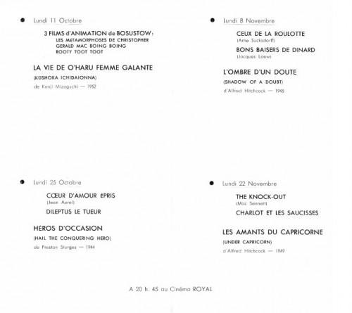 metz,jean-marie straub,cinéma royal,françois truffaut,ciné-club
